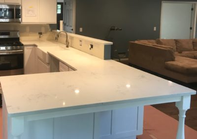 Kitchen done in Magnolia