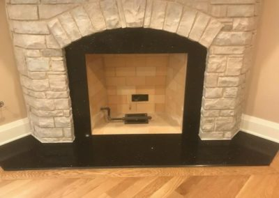 Stellar Black Fireplace